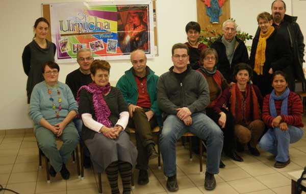 La familia Urpicha Perú en Francia