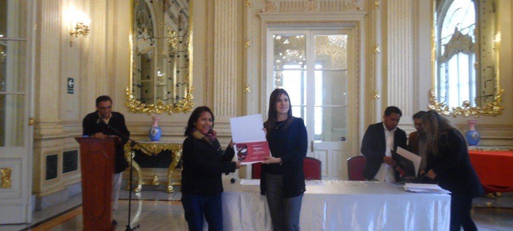 Premiación del «II Concurso Anual de Proyectos de Arte y Comunidad»