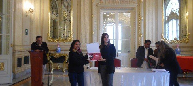 """Premiación del """"II Concurso Anual de Proyectos de Arte y Comunidad"""""""